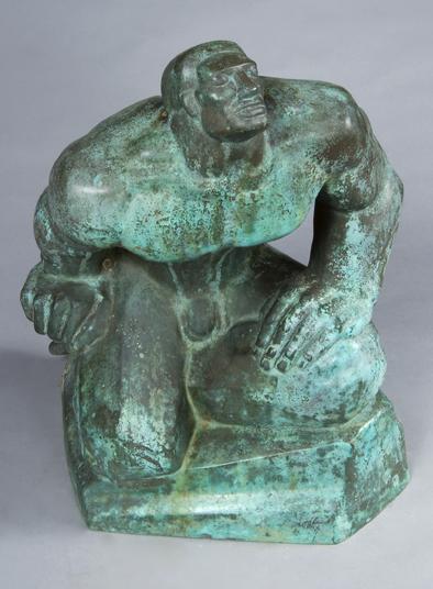 """Bronze, 1934, 20""""x17""""x14"""""""