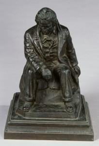 """Bronze, 15""""x10""""x10"""", 1935"""