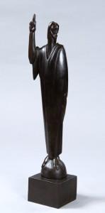 """Bronze, 21""""x4""""x3"""", 1950"""