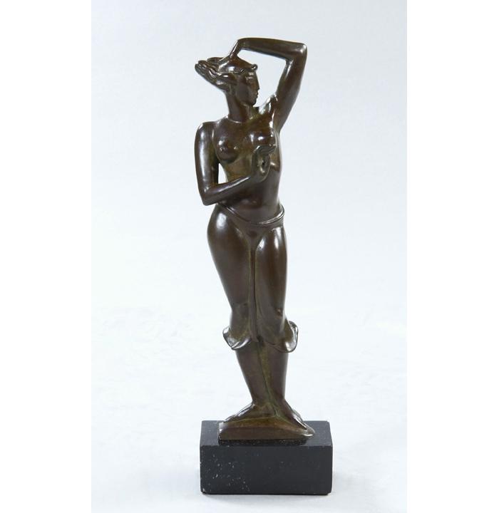 """Bronze 14"""" high, 1947-1948"""