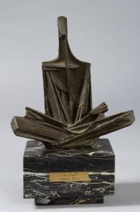"Bronze 14""x9""x5"" circa 1960-1965"