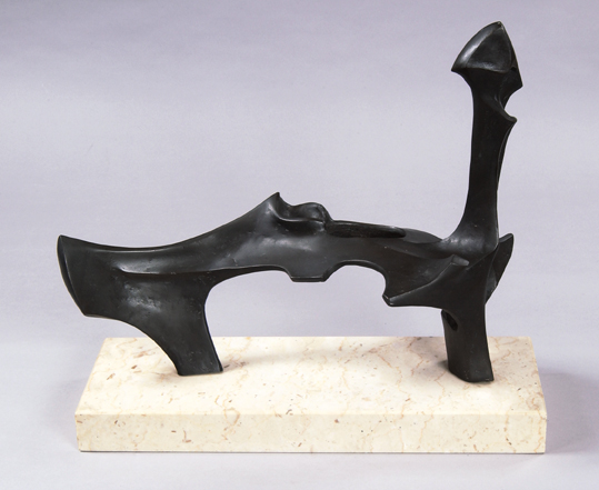 Bone Figure Reclining