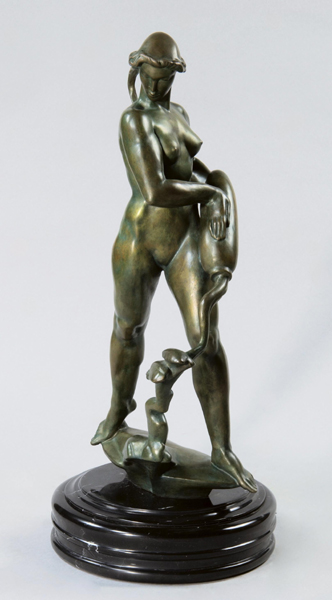 Demeter Bronze Sculpture